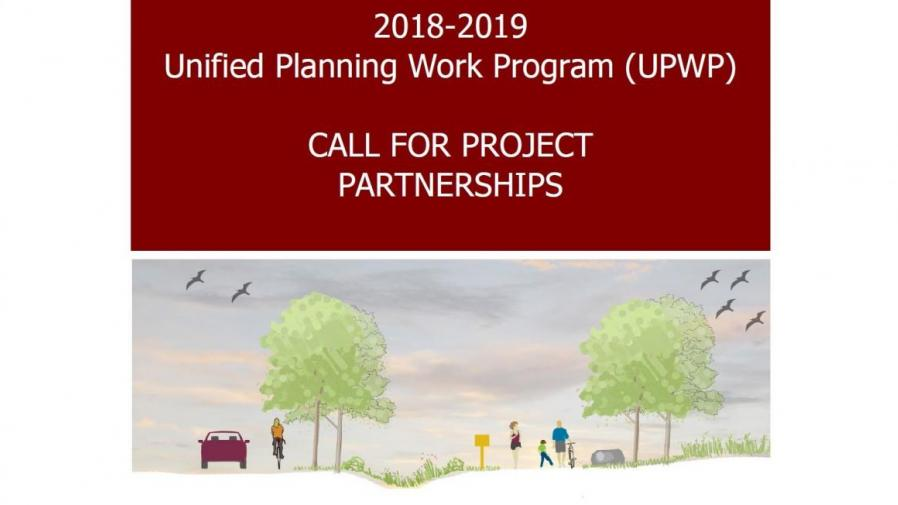 2018-2019 UPWP Call for Project Partnerships
