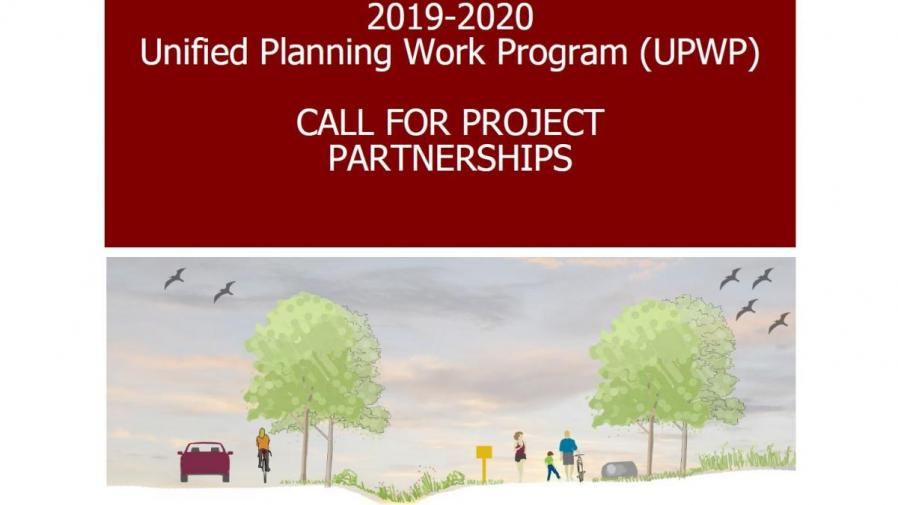 2019-2020 UPWP Call for Project Partnerships