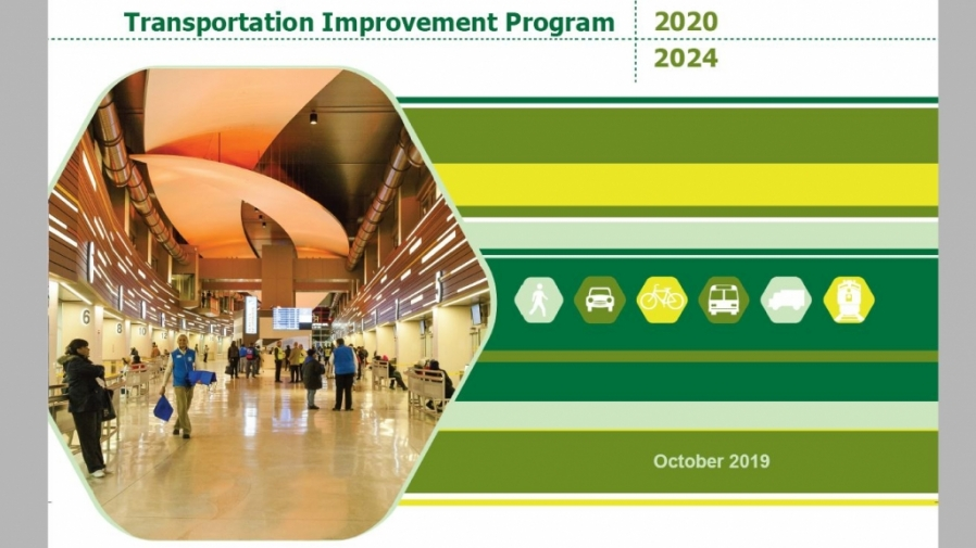 DRAFT 2020-2024 Transportation Improvement Program cover image